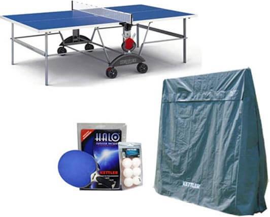kettler topstar xl outdoor table tennis table